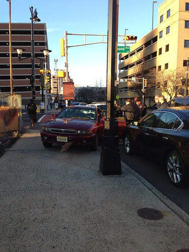 Car accident, Raymond Blvd, Newark