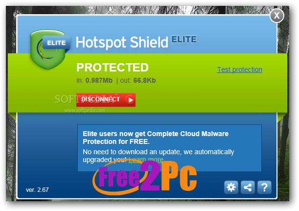 Hotspot Shield Vpn For Pc Crack Plus License Key Download Full
