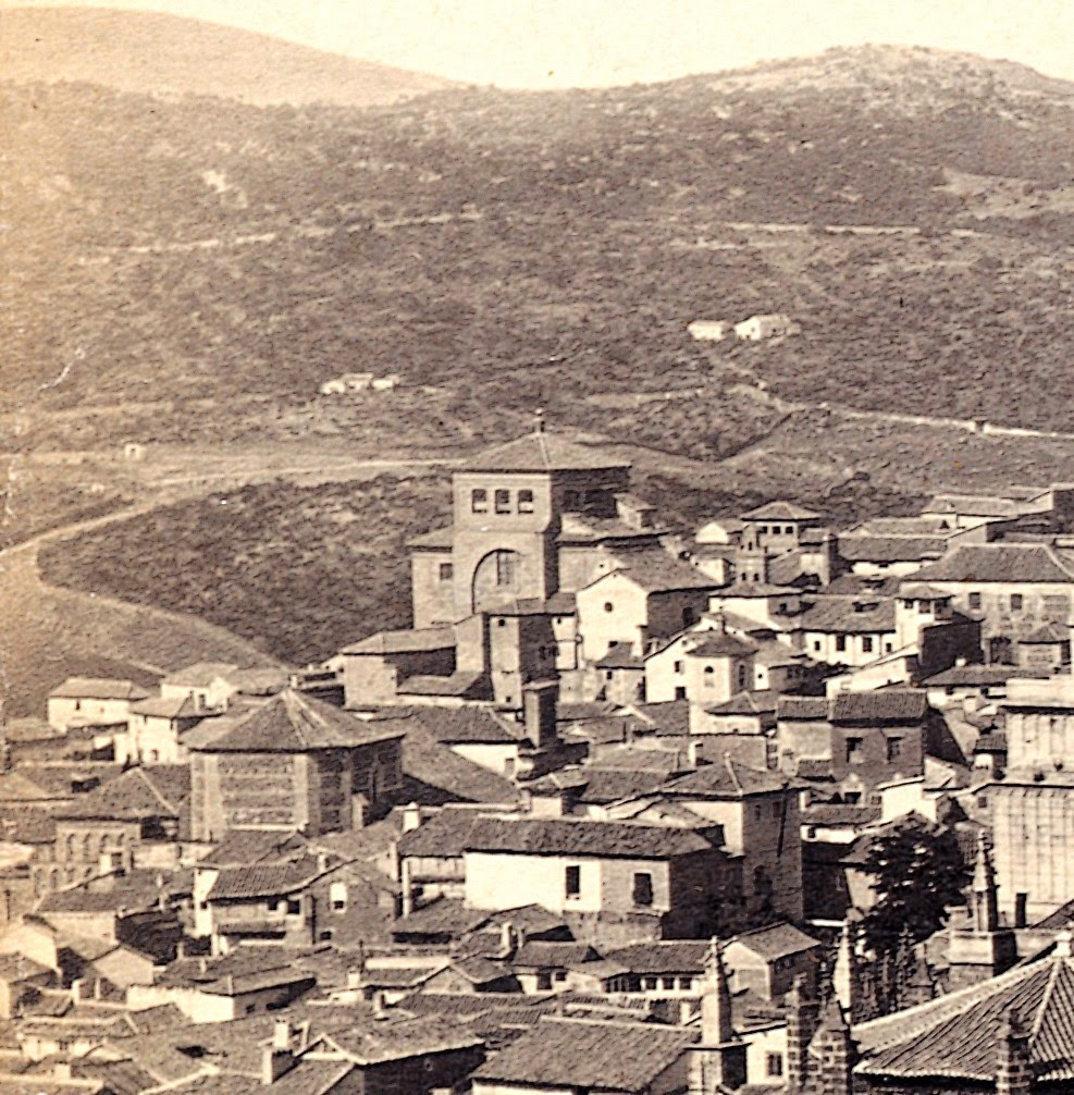 Iglesia de San Torcuato hacia 1860. Fotografía de E. P. Napper para Francis Frith