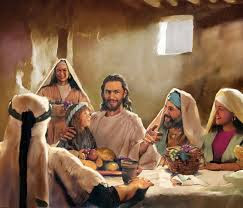 Jesus at home