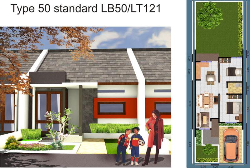 74 Gambar Rumah 2 Lantai Luas Tanah 50 Meter Gratis
