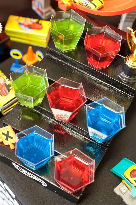 Kara's Party Ideas Jello Cups from a Hot Wheels   Car