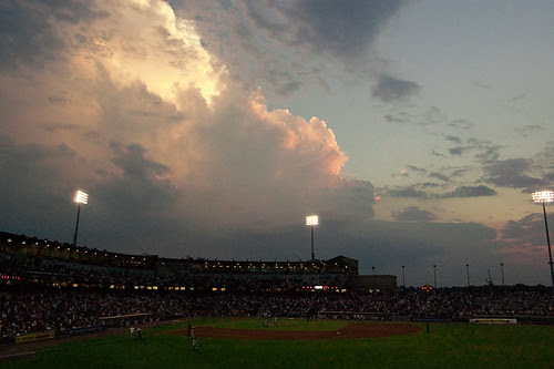 Thunderhead Over Coca-Cola Park