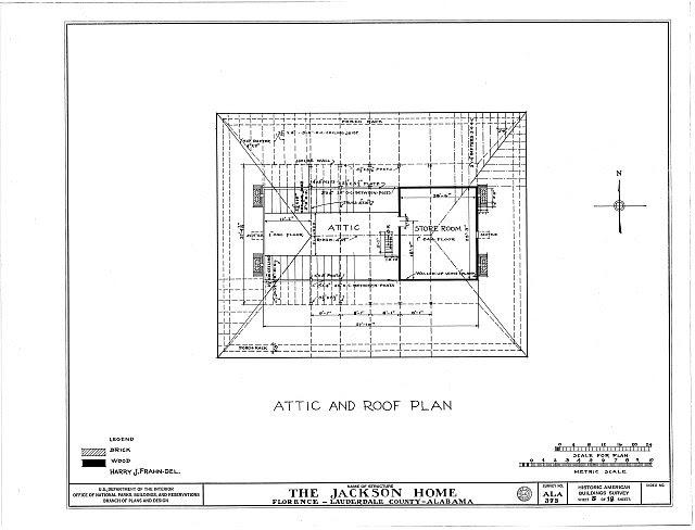 HABS ALA,39-FLO.V,3- (sheet 5 of 18) - Forks of Cypress, Savannah Road (Jackson Road), Florence, Lauderdale County, AL
