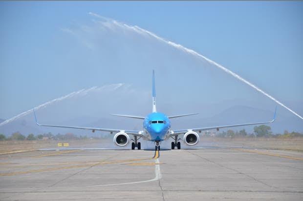 El nuevo Boing 737/800 que incorporó Aerolíneas