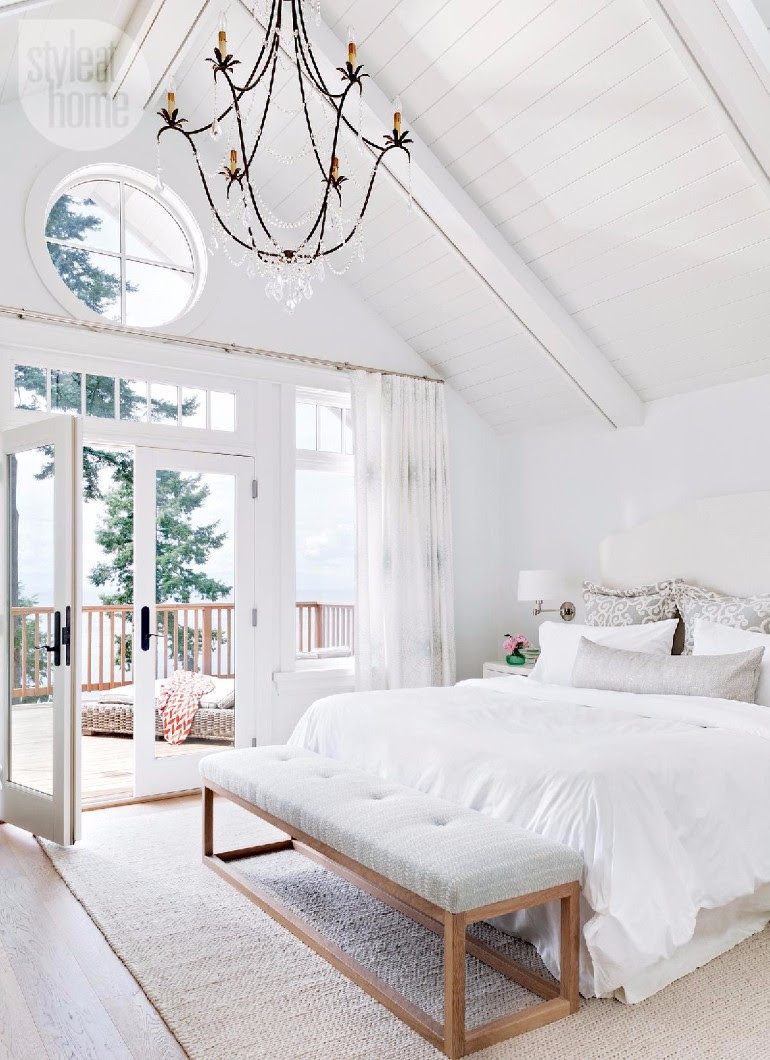 The Best White Designs For Charming Master Bedrooms ...