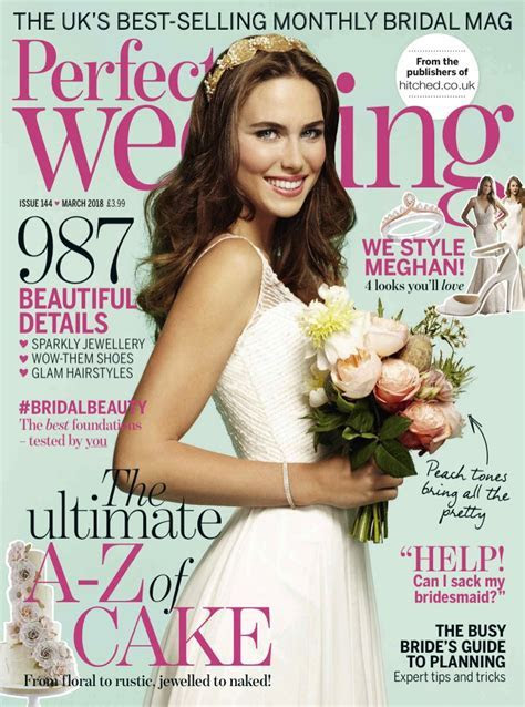 Perfect Wedding Magazine Subscription   Wedding Magazines