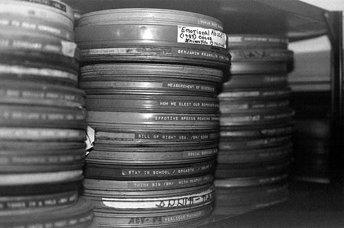 Kodachrome 25 processed as BW