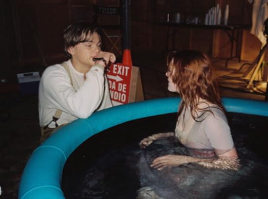photo tournage coulisse cinema Titanic 43 Photos sur des tournages de films #2  photo featured cinema 2 bonus