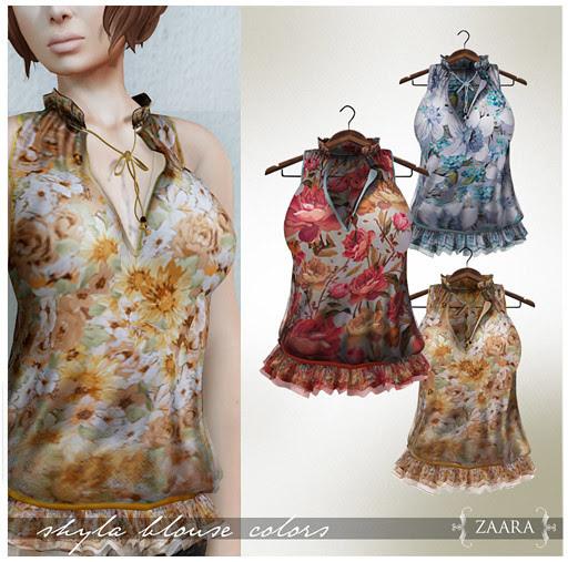 Zaara : Shyla Blouse prints 2