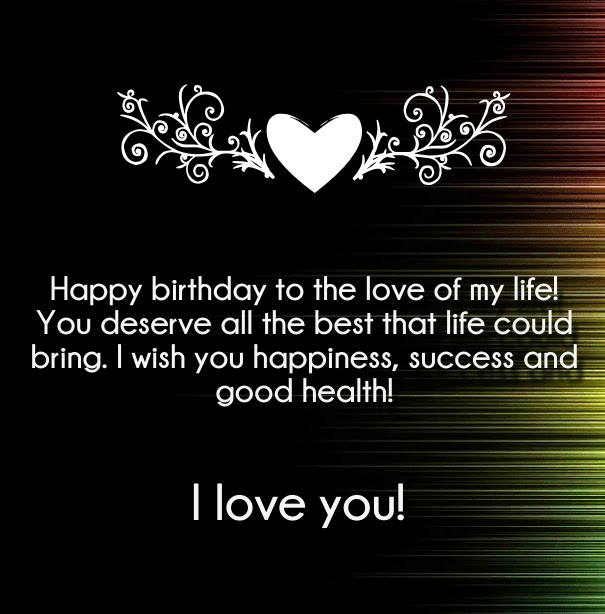 75+ Happy Birthday Quotes For Love Of My Life