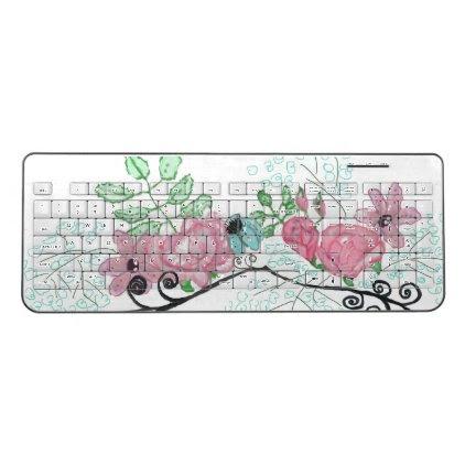 rose flourish keyboard