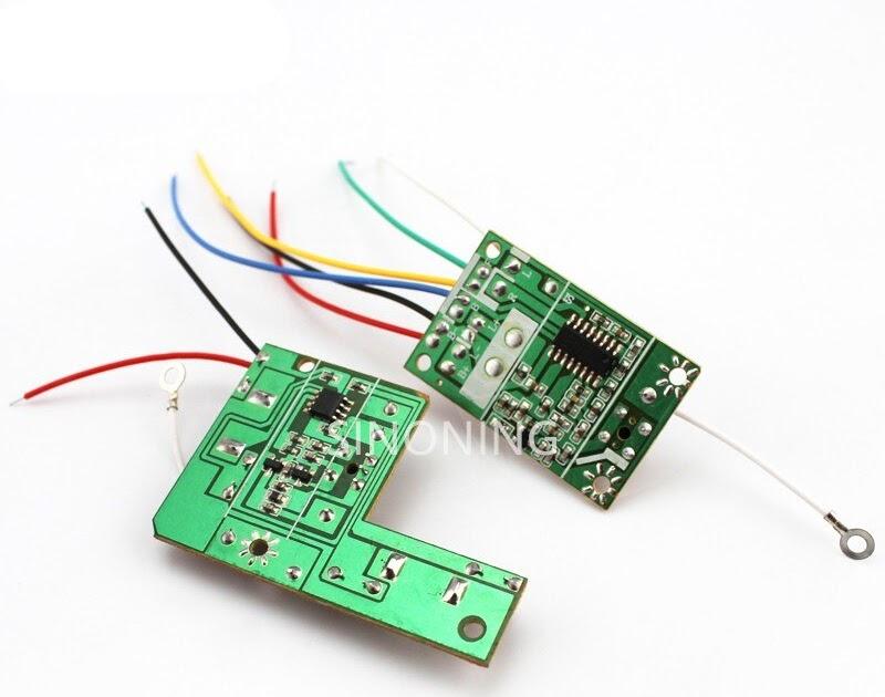 Rc Remote Control Circuit Board
