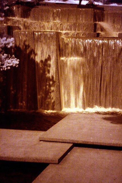 keller fountain, infrared