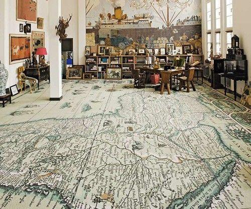 map floor