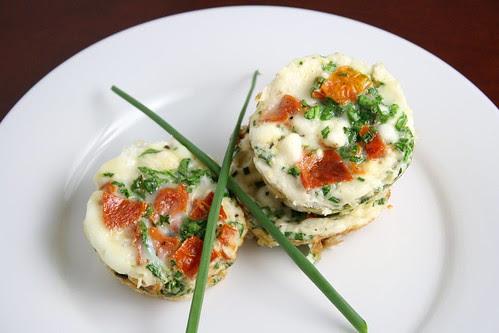 Mini Egg White Fritattas