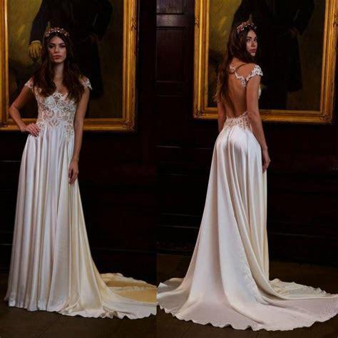 Newest Berta 2016 Wedding Dresses Cheap Short Sleeve Sheer