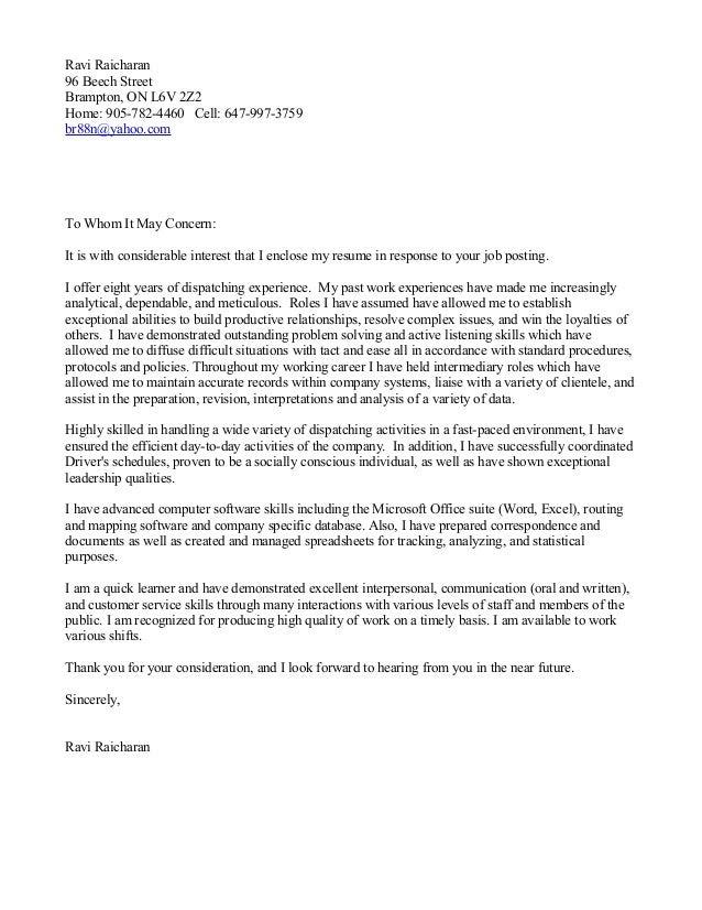 Cover Letter Soft Skills Sample Cover Letter