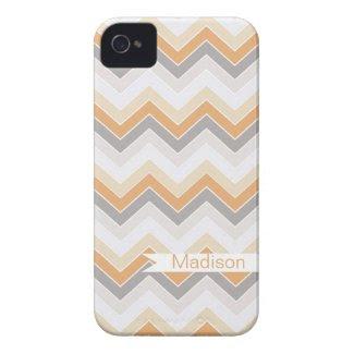 Sandy Beach {chevron pattern} Iphone 4 Case-mate Cases