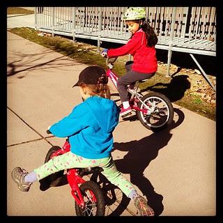 Balance bike instruction
