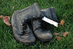 Forlorn Boots by Joe Beine