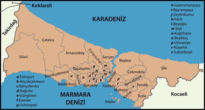 Dosya:Istanbul location districts.svg