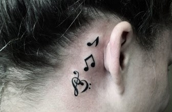 75 Best Music Tattoo Designs Meanings Notes Instruments 2018