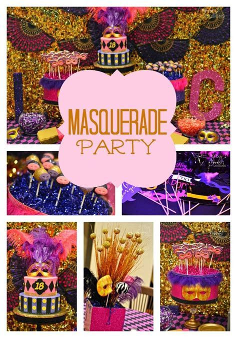 Masquerade Birthday Party