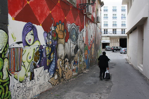 Grafitti wall, Faro