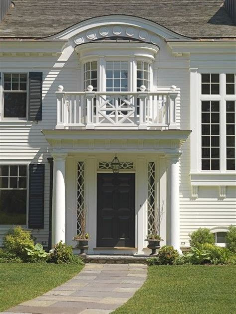 love white clapboard houses exteriors house