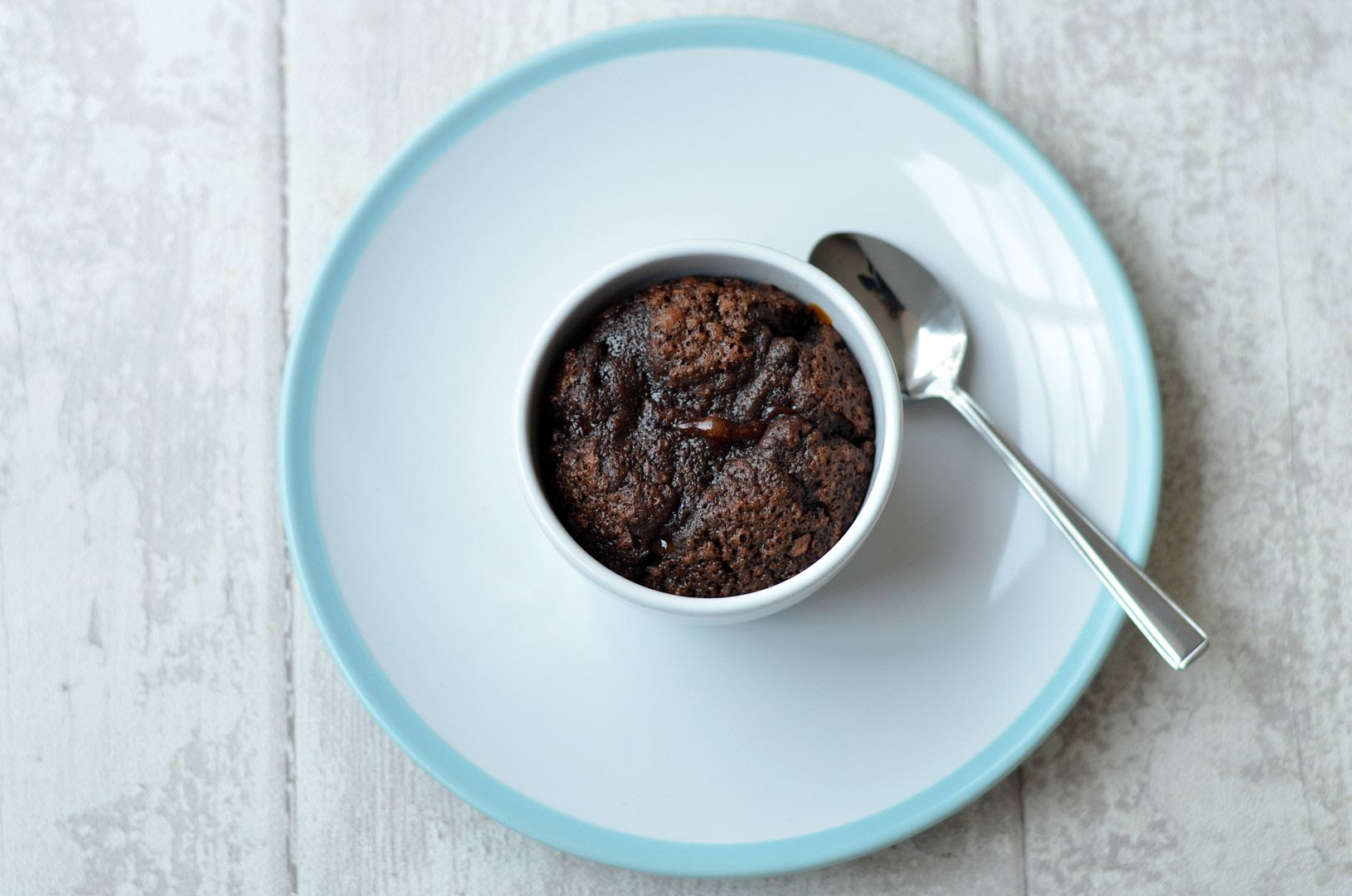Salted Caramel Chocolate Puddings