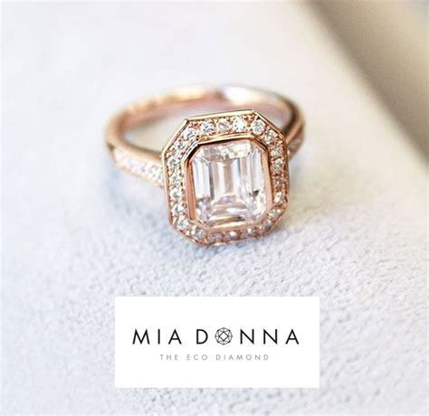 Eco Friendly Engagement Rings from MiaDonna   Green