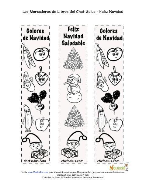 Días Festivos 12 Marcadores Página Para Colorear Para La Navidad