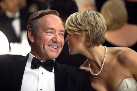 Kevin Spacey and Robin Wright were both nominated for their roles in