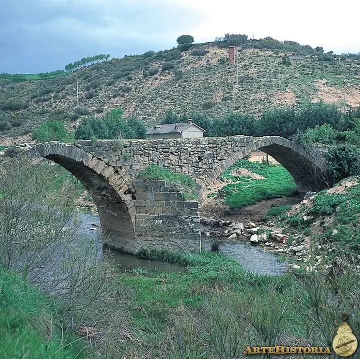 Puente sobre el río Salado (Cirauqui, Navarra)