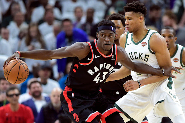 ea547dff144 Raptors  Siakam throws down insane dunk in Game 1 vs. Bucks