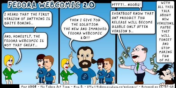 [fedora webcomic 2.0]