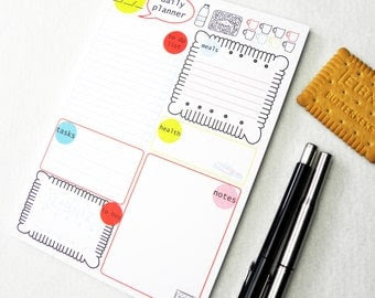 daily planner notepad – Etsy NO