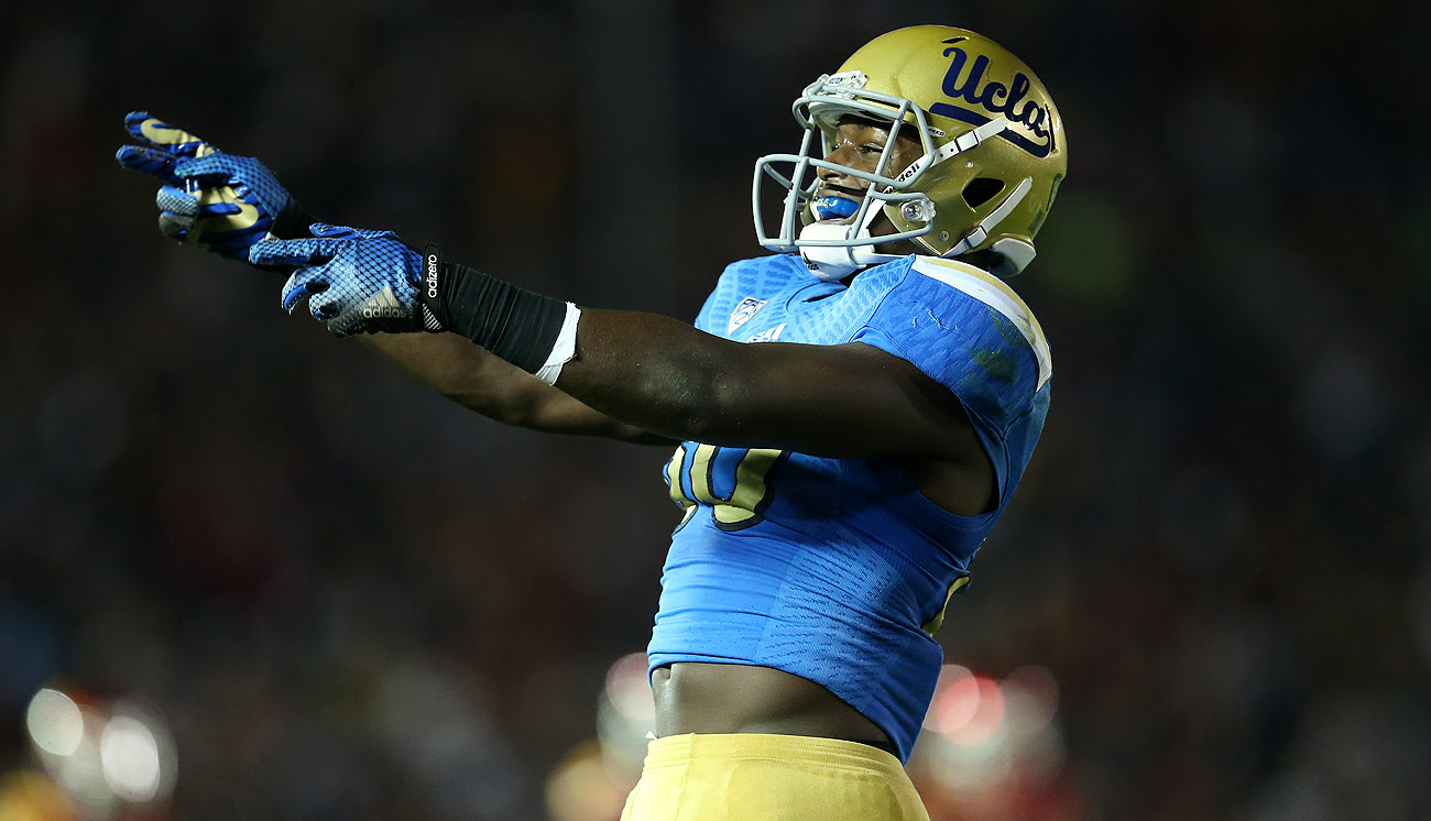 A knee injury has NFL teams conflicted over when to draft linebacker Myles Jack.