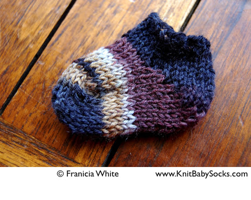 sock knitting for beginners – Knit Baby Socks