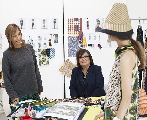Colaboração: O estúdio de design mostram a inspiração por trás de algumas das estampas arrojadas