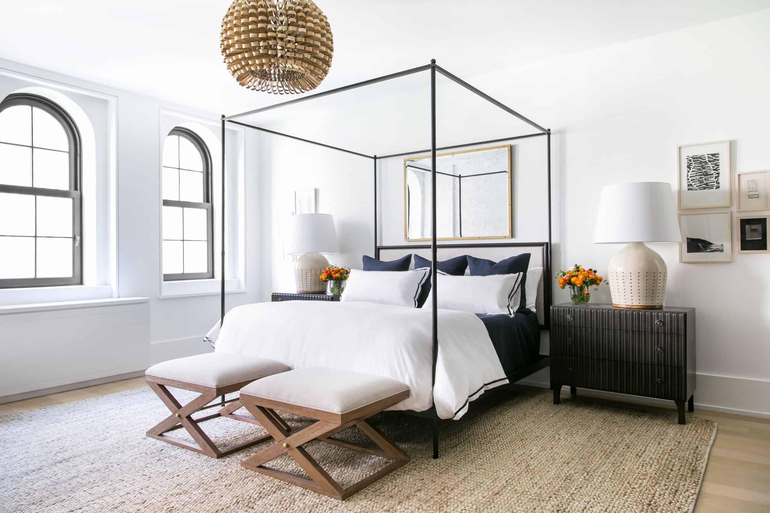 My Dream Guest Bedroom Design Board: Neutral + Feminine