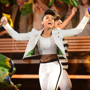 Janelle Monáe performs 'What Is Love' on 'American Idol'...