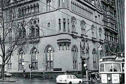 The former ES&A Bank (circa 1987) in Melbourne
