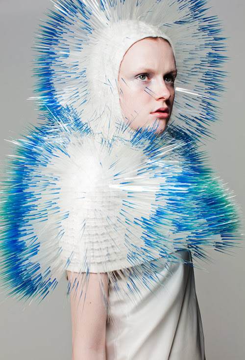 One of the incredible creations from Maiko Takeda's Royal College of Art MA collection.
