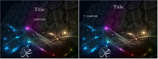 Download 6400 Background Power Point Nuansa Islami Paling Keren