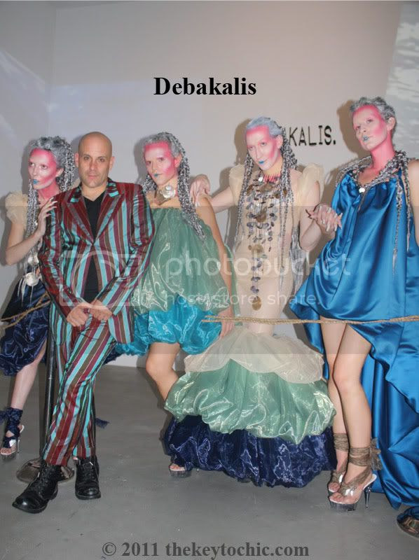 Debakalis SS2012 Concept Fashion Week