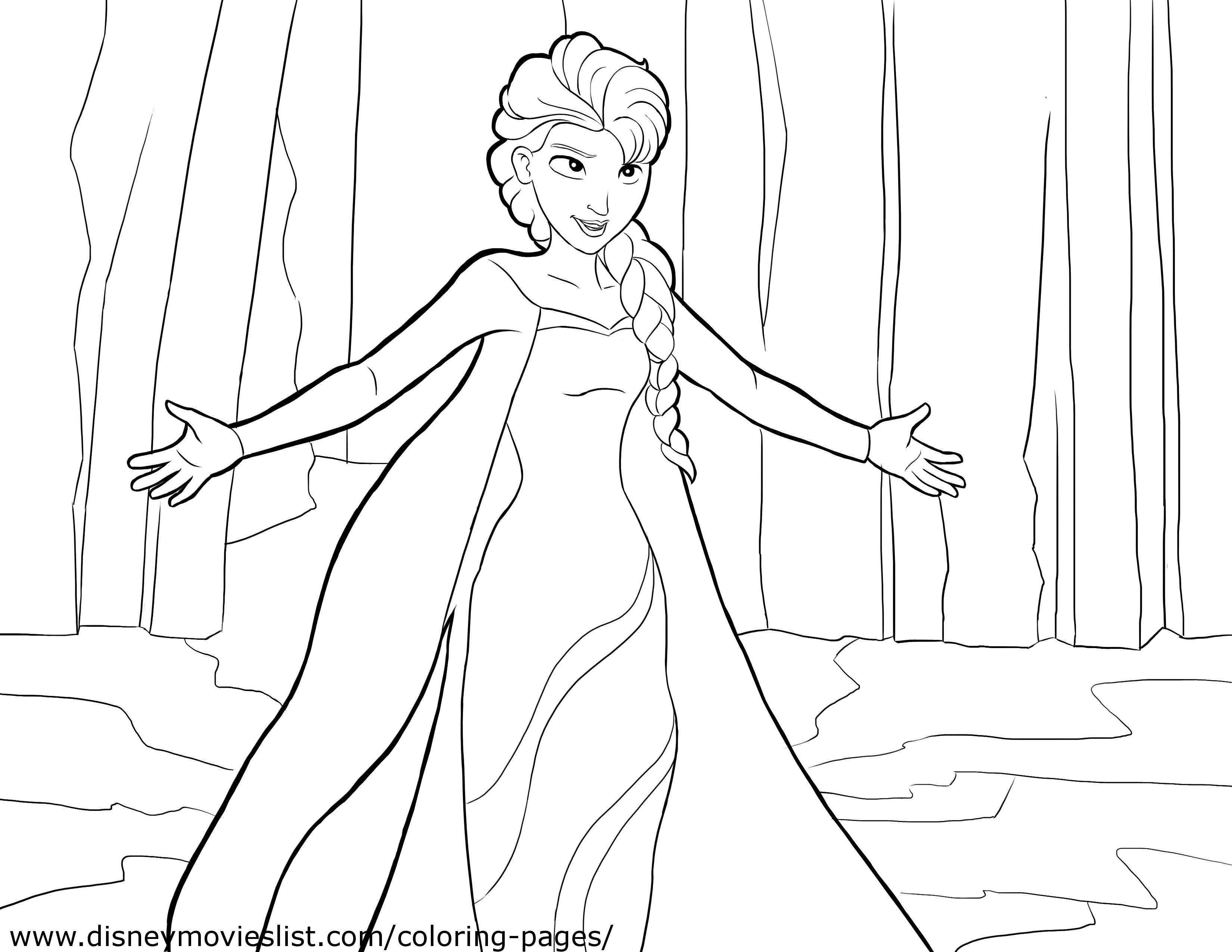 Frozen Coloring Pages - Frozen Photo (36145850) - Fanpop