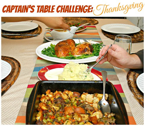 Captain's Table Challenge: Thanksgiving!