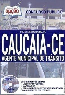 Apostila Prefeitura de Caucaia AGENTE MUNICIPAL DE TRÂNSITO